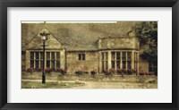 Framed English Cottage II