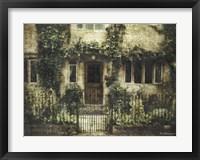 Framed English Cottage IV