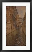 Framed Tour of Venice II