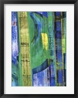Framed Blue on Blue II