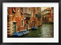 Framed Venetian Canals III