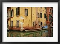 Framed Venetian Canals VI
