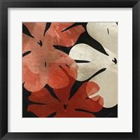 Framed Bloomer Tiles III