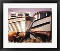 Framed Two Boats
