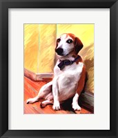 Framed Being a Beagle