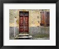 Framed Weathered Doorway IV
