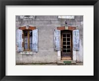 Framed Weathered Doorway VI