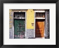 Framed Weathered Doorway VII
