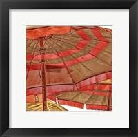 Framed Umbrellas Italia I