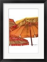 Framed Umbrellas Italia II
