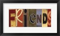 Framed Friends Panel