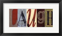 Framed Laugh Panel