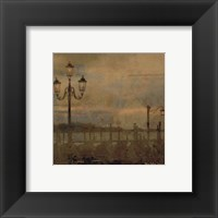 Framed Mini Dawn and the Gondolas I