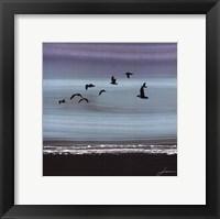 Dusky Sea II Framed Print