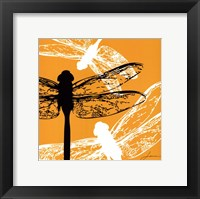 Framed Pop Fly I
