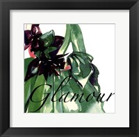 Fashion Glamour Framed Print