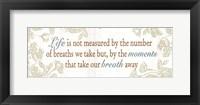Framed Life is not measured...