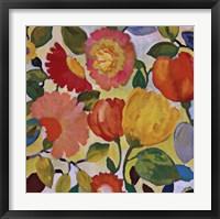Framed Anemone Garden