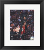 Framed Edge Wrestlemania 26 Action