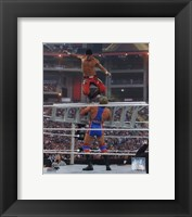 Framed Evan Bourne Wrestlemania 26 Action