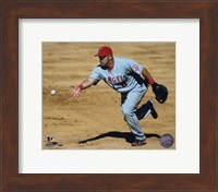 Framed Kendry Morales 2010 Fielding Action