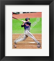 Framed Justin Morneau 2010 Action