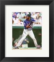 Framed Denard Span 2010 Action On The Field