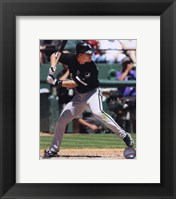 Framed Gordon Beckham 2010 Action