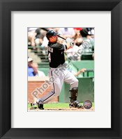 Framed Paul Konerko 2010 Action