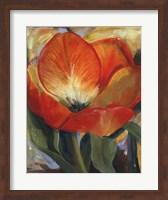Framed Summer Tulips I