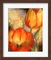 Framed Summer Tulips II