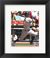Framed David Wright 2010 Action