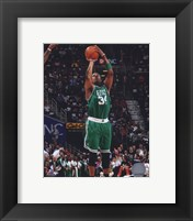 Framed Paul Pierce 2009-10 Playoff Action