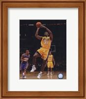 Framed Ron Artest 2009-10 Playoff Action