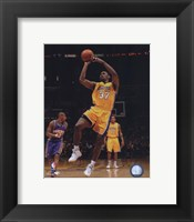 Framed Ron Artest 2009-10 Playoff Action
