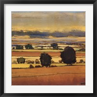 Across The Fields II Framed Print