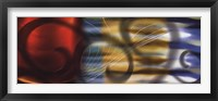 Colorfields West Framed Print