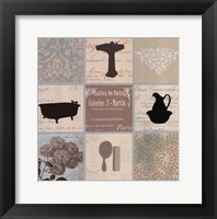 Framed Bath Collage II