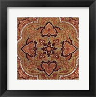 Persian Tiles II Framed Print