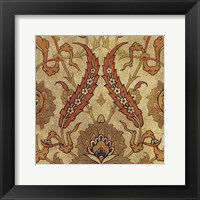 Persian Tiles III Framed Print