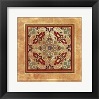 Framed Italian Tile IV
