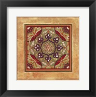 Framed Italian Tile VI