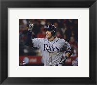 Framed Evan Longoria 2010 Action