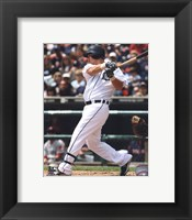 Framed Magglio Ordonez 2010 Action