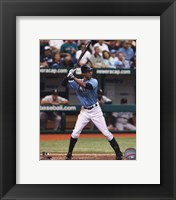 Framed B.J. Upton 2010 Action