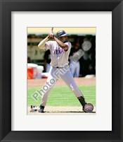 Framed Vladimir Guerrero 2010 baseball
