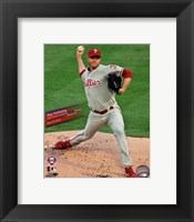 Framed Roy Halladay Perfect Game Action with Overlay