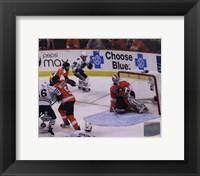 Framed Patrick Kane Game Winning Goal 2009-10 Stanley Cup Finals (#23)