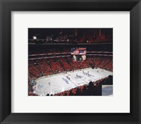 Framed Wachovia Center 2009-10 NHL Stanley Cup Finals Game 3 (#9)