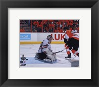 Framed Claude Giroux 2009-10 NHL Stanley Cup Finals Game 3 Action (#13)